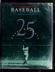 Cover of: 25 great moments | Geoffrey C. Ward
