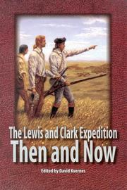 Cover of: The Lewis and Clark Expedition |
