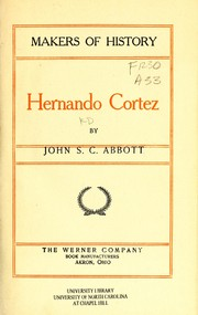 Cover of: Hernando Cortez