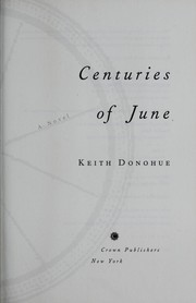 Cover of: Centuries of June | Keith Donohue