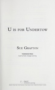 Cover of: U is for undertow