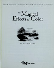 Cover of: The magical effects of color