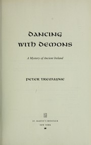 Cover of: Dancing with demons: a mystery of ancient Ireland