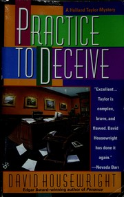 Cover of: Practice to Decieve | David Housewright