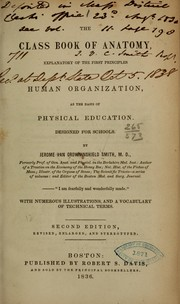 Cover of: The class book of anatomy