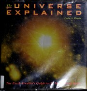 Cover of: The Universe explained by Colin A. Ronan