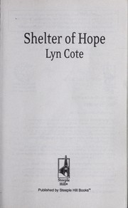 Cover of: Shelter of hope
