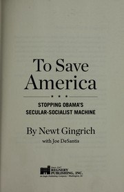 Cover of: To save America