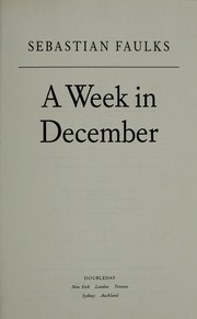 Cover of: A week in December