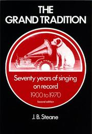 Cover of: The grand tradition