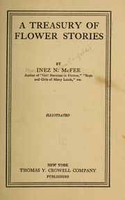 Cover of: A treasury of flower stories