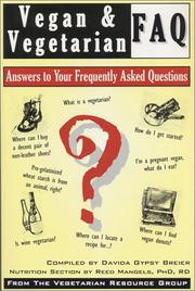 Cover of: Vegan & Vegetarian Faq