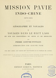 Cover of: Mission Pavie
