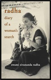 Cover of: Radha, diary of a woman's search