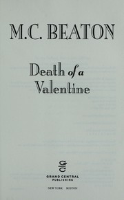 Cover of: Death of a valentine