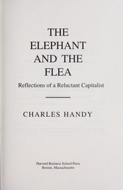 Cover of: The elephant and the flea |