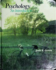 Cover of: Psychology | Joshua R. Gerow