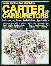 Cover of: Carter Carburetors