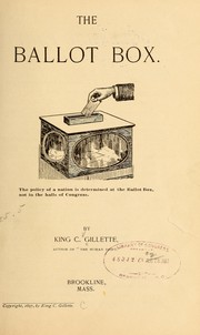 The ballot box ...