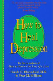 Cover of: How to heal depression