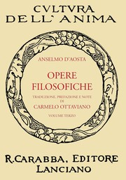 Cover of: Opere Filosofiche by