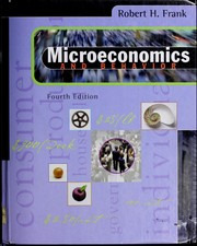 Cover of: Microeconomics and behavior | Robert H. Frank