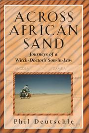 Cover of: Across African sand