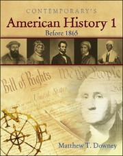 Contemporary's American history 1