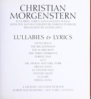 Cover of: Christian Morgenstern
