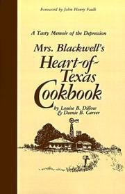 Cover of: Mrs. Blackwell's Heart of Texas Cookbook