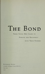 Cover of: The bond
