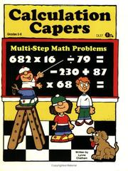Cover of: Calculation Capers