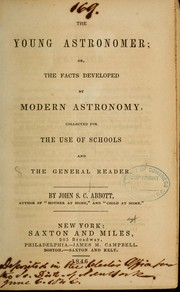 Cover of: The young astronomer