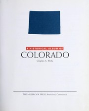 Cover of: A historical album of Colorado
