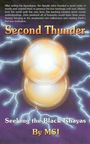 Cover of: Second Thunder: Seeking the Black Ishayas