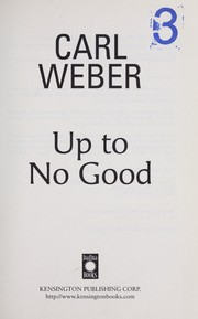 Cover of: Up to no good