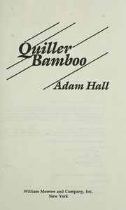 Cover of: Quiller bamboo