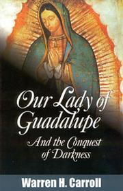Cover of: Our Lady Of Guadalupe