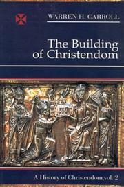 Cover of: The Building Of Christendom