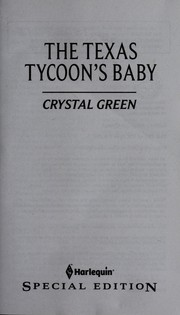 The Texas tycoon's baby
