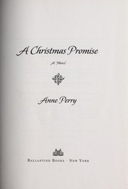 Cover of: A Christmas promise: a novel