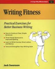 Cover of: Writing fitness | Jack Swenson