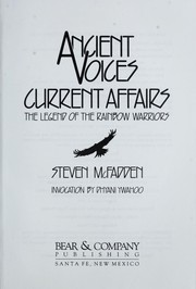 Cover of: Ancient voices, current affairs | Steven McFadden