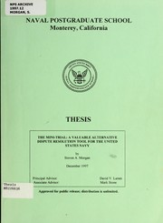 Cover of: The Mini-Trial