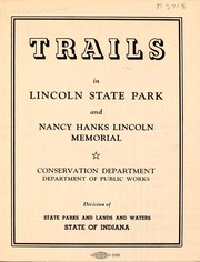 Cover of: Trails in Lincoln State Park and Nancy Hanks Lincoln Memorial