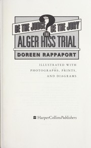 Cover of: The Alger Hiss trial