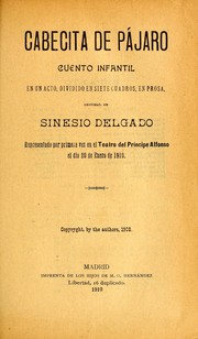 Cover of: Cabecita de pájaro