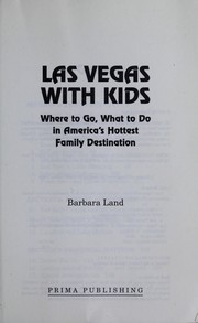 Cover of: Las Vegas with kids