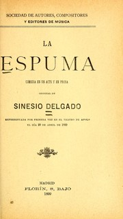 Cover of: La espuma
