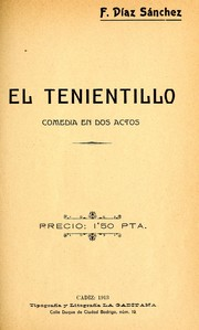 Cover of: El tenientillo